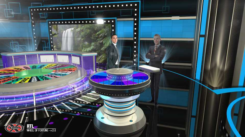 The Wheel Of Fortune Rtl Croatia 2015 Temma X Tv Amp Video Production 306 176 Video Set