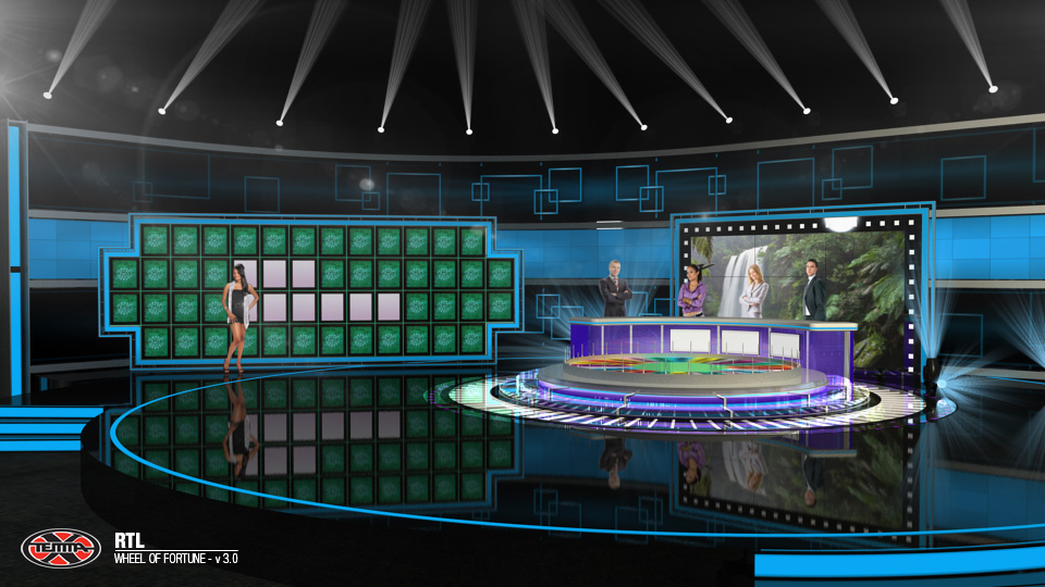 THE WHEEL OF FORTUNE RTL CROATIA 2015 Temma X TV